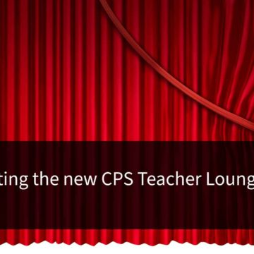 The new teacher lounge